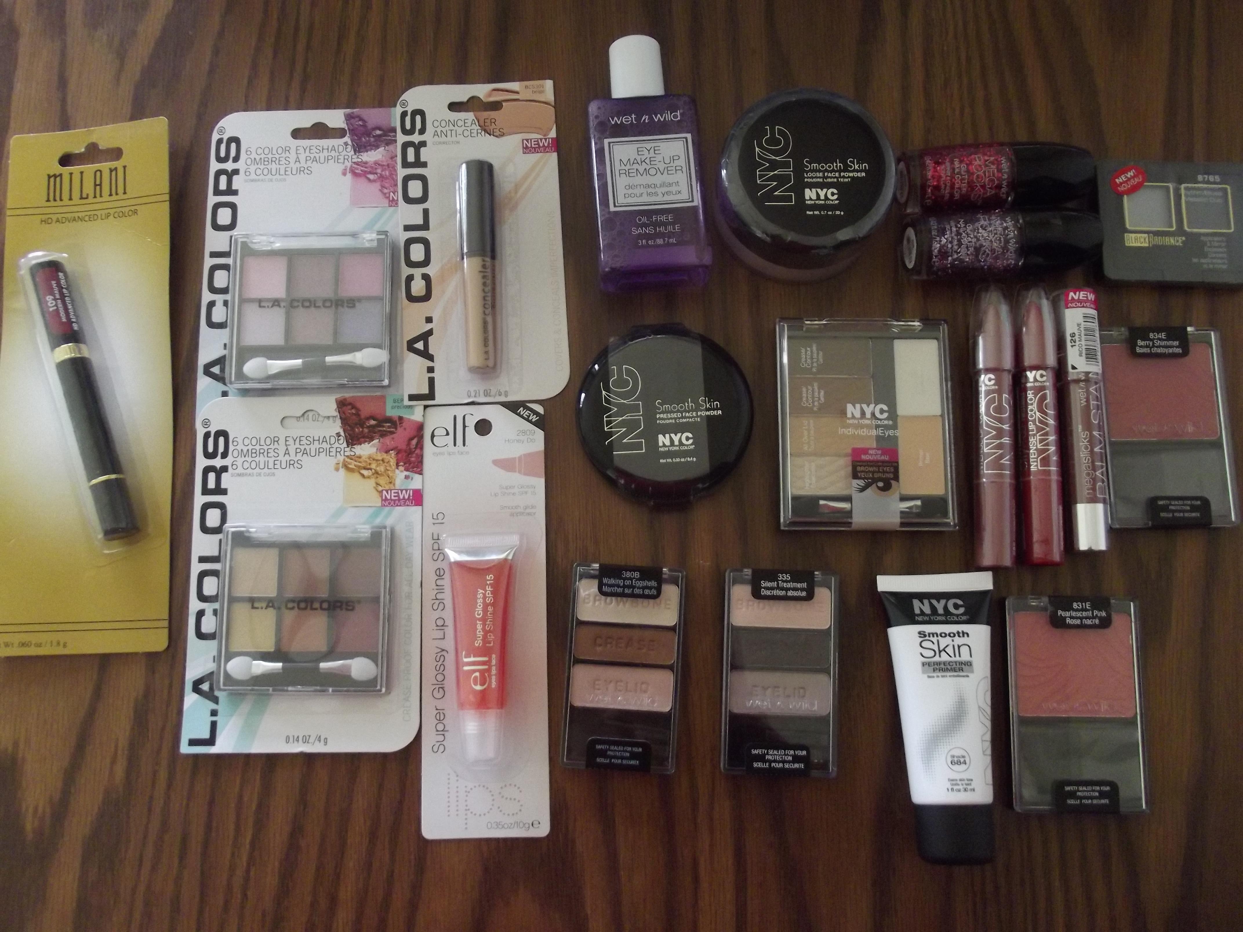 Dollar tree makeup haul